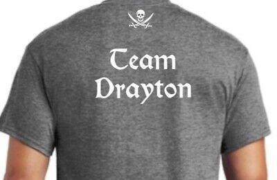 Team Drayton metal detecting shirt size X  Large