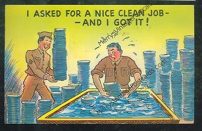I Asked For A Nice Clean Job And Got It! ( militarycomics#190