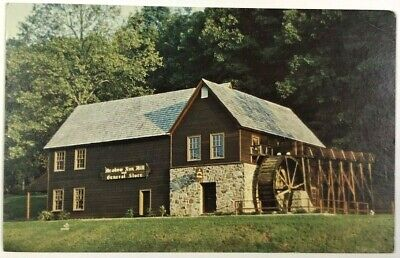 Postcard Meadow Run Grist Mill General Store Michie Tavern Charlottesville (Charlottesville Stores)