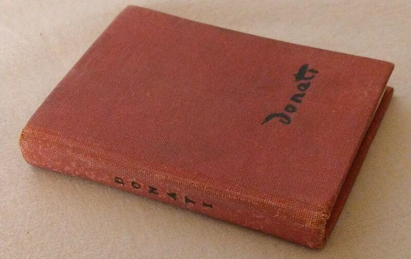 1949 Vintage Donati Limited Edition!  Durand-Ruel Galleries Art Mini Book RARE!!
