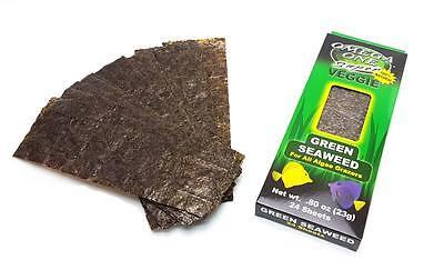 Omega One Algen grün 23 g grüne Futteralgen für Meerwasser Fische