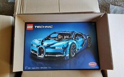 LEGO Technic Bugatti Chiron Blue Race Car Set 42083 NISB Original Lego Box