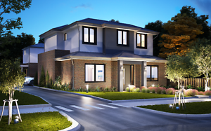 Burwood off plan townhouse for sale Unit 2 and 3 Burwood Whitehorse Area Preview