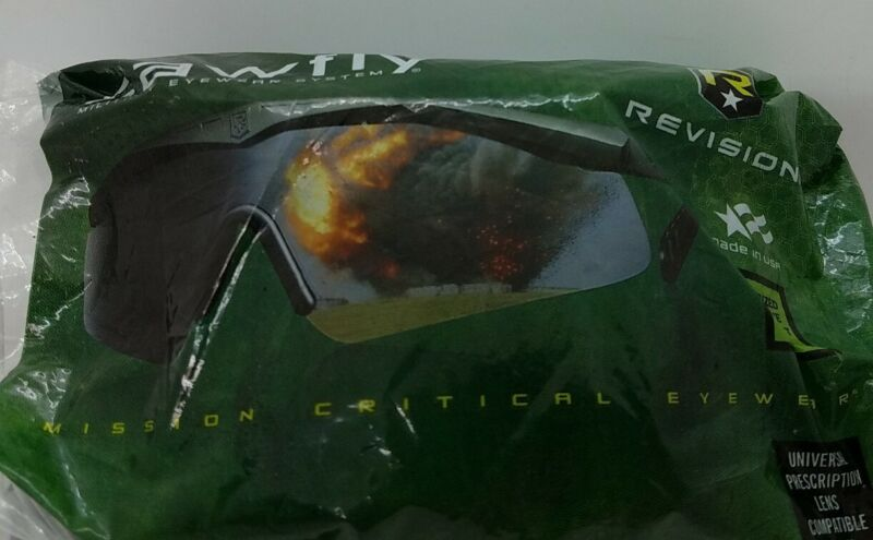 Revision Sawfly Military Eyewear System Tinted Lens Sunglasses. Large - NEW