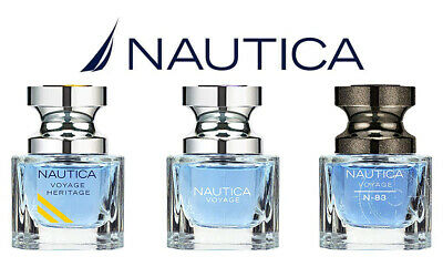 Nautica Omni Eau De Toilette Gift Set of 3,Voyage + Voyage N83 + Voyage Heritage