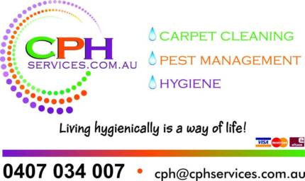 Gold Coast carpet clean - pest control CPH Services Worongary Gold Coast City Preview
