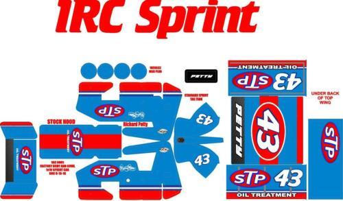 1RC SPRINT WRAP Richard Petty THEME
