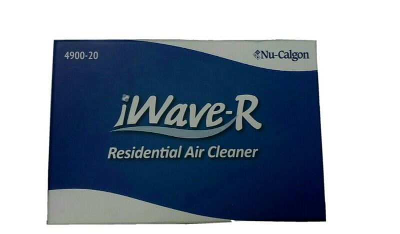 IWAVE-R Residential Air Cleaner 4900-20 NU-CALGON, Self-Cleaning, Cold Plasma