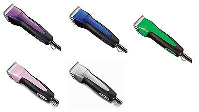 ANDIS Excel 5 Speed Clipper for Dogs & Pets - Powerful rotary motor - 5 colors (Groom Rotary Motor)
