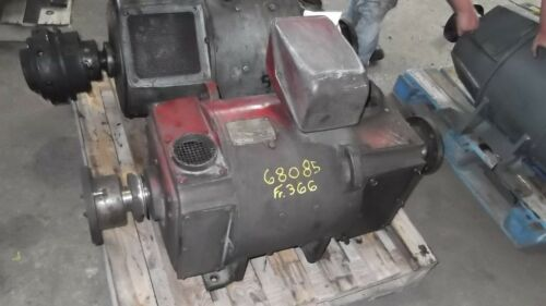 75 Hp Dc General Electric Motor, 1750 Rpm, 366ay Frame, Dpfv, 550 V