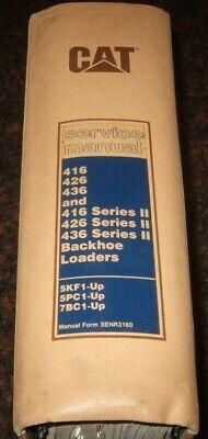 Caterpillar 416 426 436 Series I Ii Backhoe Loader Shop Repair Service Manual