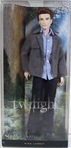 BARBIE TWILIGHT SAGA PINK LABEL EDWARD CULLEN DOLL NEW!