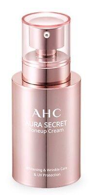 AHC Aura Secret Tone Up Cream 50g Wrinkle Care Whitening Sun Protection K-Beauty