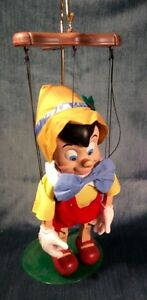 Disney Pinnochio Sound Activated Sing'g Danc'g Marionette $50