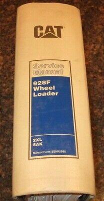 Cat Caterpillar 928f Wheel Loader Shop Repair Service Manual Sn 2xl 8ak