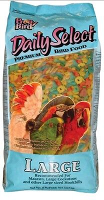 PRETTY BIRD PELLETS daily select large parrot food macaw bird diet 3lb