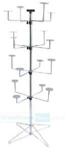 Floor-4-levels-16-Hat-Holders-Spinner-Display-Stand-Rack-SPIN-SP220