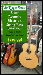 4 String Dean Electric - Acoustic Bass  - King of Trade