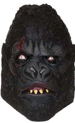 e Affe Tier Gorillamaske Affenmaske Halloween Fasching (Gorilla Maske)