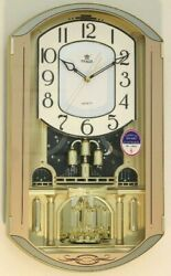 Power Melodies in Motion pendulum wall clock(PW6230ARMKS)