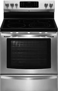 Stainless Steel electric Stove/Oven/Range:  416-264-1460