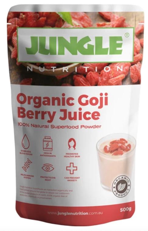 100 Certified Organic Goji Juice Berry Powder Full Of