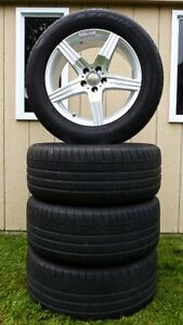 Mercedes AMG genuine mags and tires