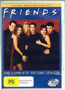 FRIENDS FRENDS SEASON SERIES TWO 2 DVD BOXSET 4 DISCS AS NEW Heidelberg West Banyule Area Preview