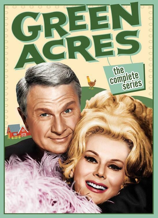 Купить Green Acres: The Complete Series Season 1 2 3 4 5 6 (DVD 2017 24 Disc Box Set)