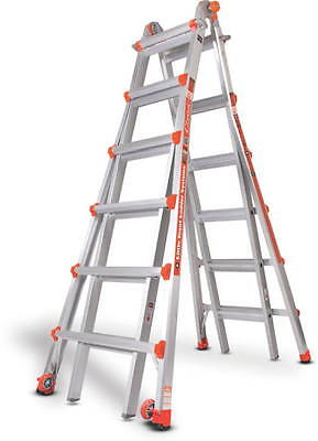 26 1a Little Giant Ladder Classic W Work Platform 10126lgw The Original New