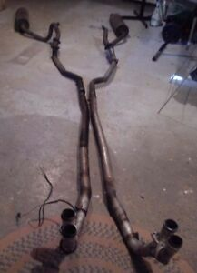 Jaguar XJS V12 European type exhaust system complete West Island Greater Montréal image 1