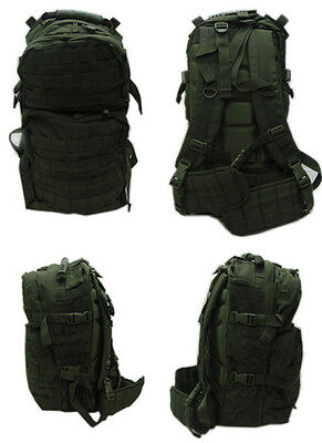 MOLLE Medium USMC Assualt Backpack Pack Hiking Patrol - OD GREEN