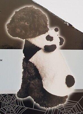 Pet Dog Fluffy Panda Bear Fancy Dress Outfit Plush Costume - Pet Panda Kostüm