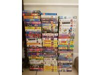 VHS TAPES VARIOUS -approx 80 VHS tapes all originals