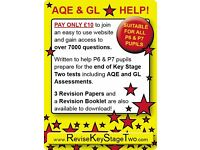 AQE/GL Online Tests and Tutor