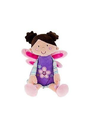 Hada Muñeca Suave Peluche Juguete para niña rosa morado mousehouse