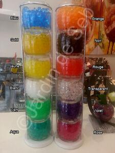Billes-de-gel-Perles-d-039-eau-Art-floral-decoration-de-500-billes-sachet