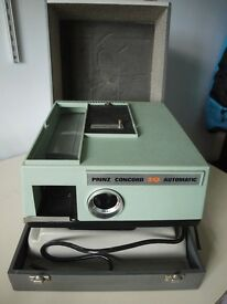 Prinz Concord Slide Projector - FREE - Spares and Repair