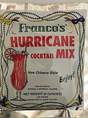 Hurricane Mix (Franco's New Orleans Style Hurricane Cocktail Mix (Pack of 5) )