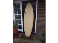 6'10 Firewire ADDvance Surfboard - Excellent Condition