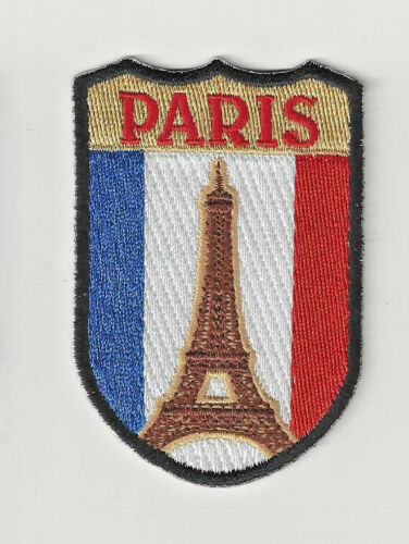 Paris France Souvenir Patch Eiffel Tower