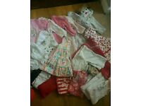 Baby girls clothes 3-6 months (25 items)