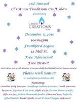 Christmas Craft Show and Vendor Event - Pictures with Santa!