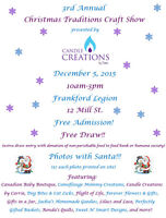 3rd Annual Christmas Traditions Craft Show