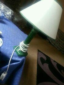 Lamp green colour