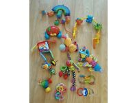 Baby Toys Bundle £2 for the lot Rattle Teething