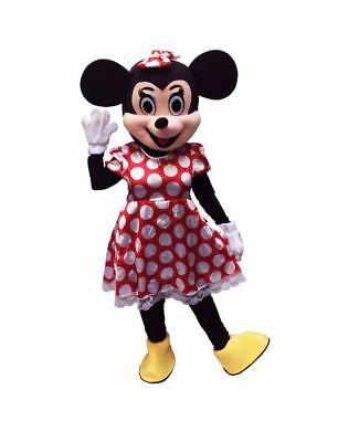 RENT Minnie Mouse Adult Mascot Costume Disney Halloween Party Birthday Girls Joy