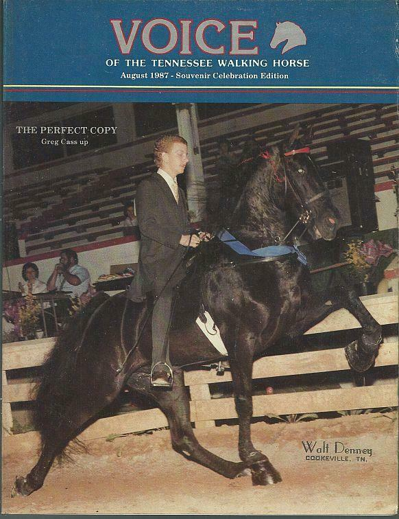 Voice of Tennessee Walking Horse Magazine August 1987 Souvenir Celebration Ed