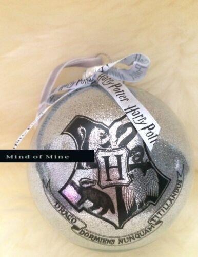 Harry Potter Weihnachtskugel Hogwarts Christbaumschmuck, Weihnachtsdeko Deko