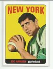 Rookie Reprint Joe Namath Football Trading Cards